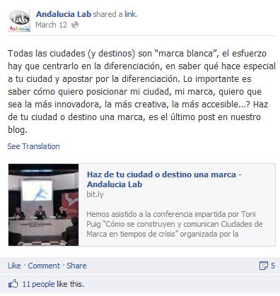 Generar contenido en Redes Sociales. Facebook (3/4)