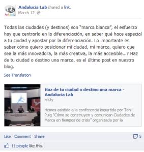 Facebook Andalucía Lab