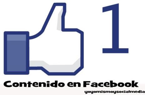 Generar contenido en facebook