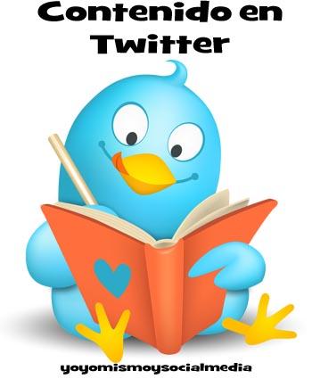 generar contenido en Twitter