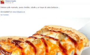Facebook Telepizza