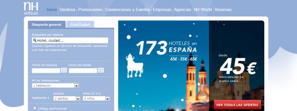 Decoración web Navidad