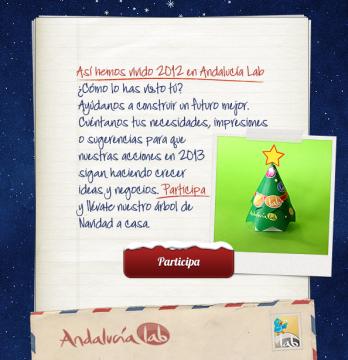 Newsletter felicitación Navidad