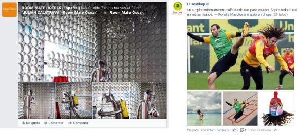 Nuevas fotos diseño interfaz facebook