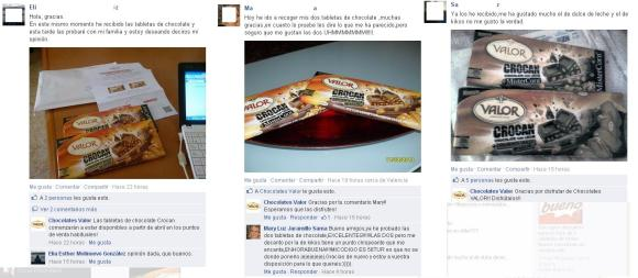 Accion marketing chocolates valor